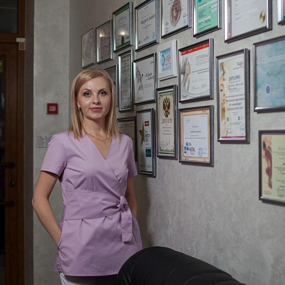 Лікар-косметолог в Запоріжжі Анжеліка Матієнко
